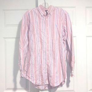 Ralph Lauren Men's Pink Striped Shirt
